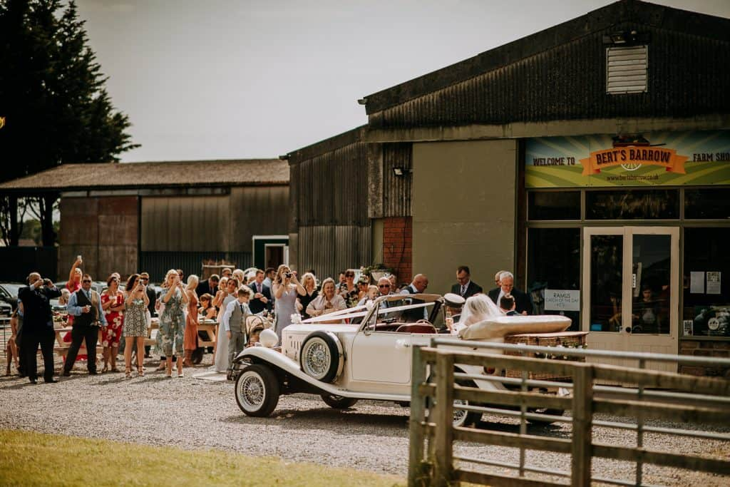 Berts Barrow Wedding photography