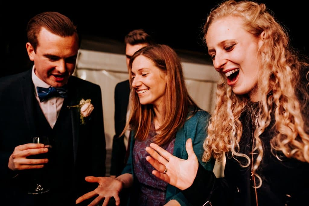 Wedding magic within the grounds of Hilltop Country House
