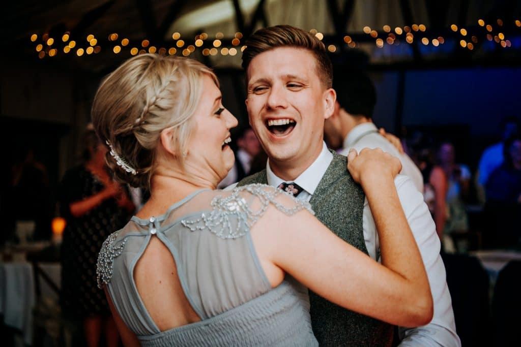 Bridesmaid having fun in Beverley East Yorkshire