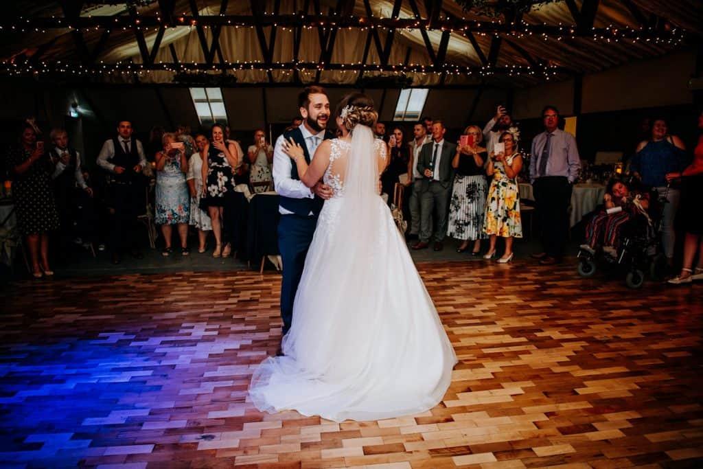 A Beverley Barn first dance
