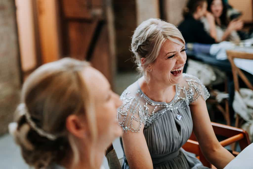 Funny wedding moments photographed by Patrick Mateer of M and G Wedding Photography
