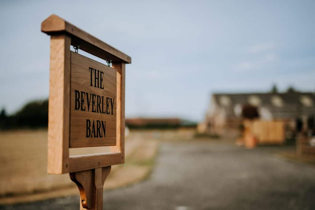 M and G Wedding Photography at the Beverley Barn