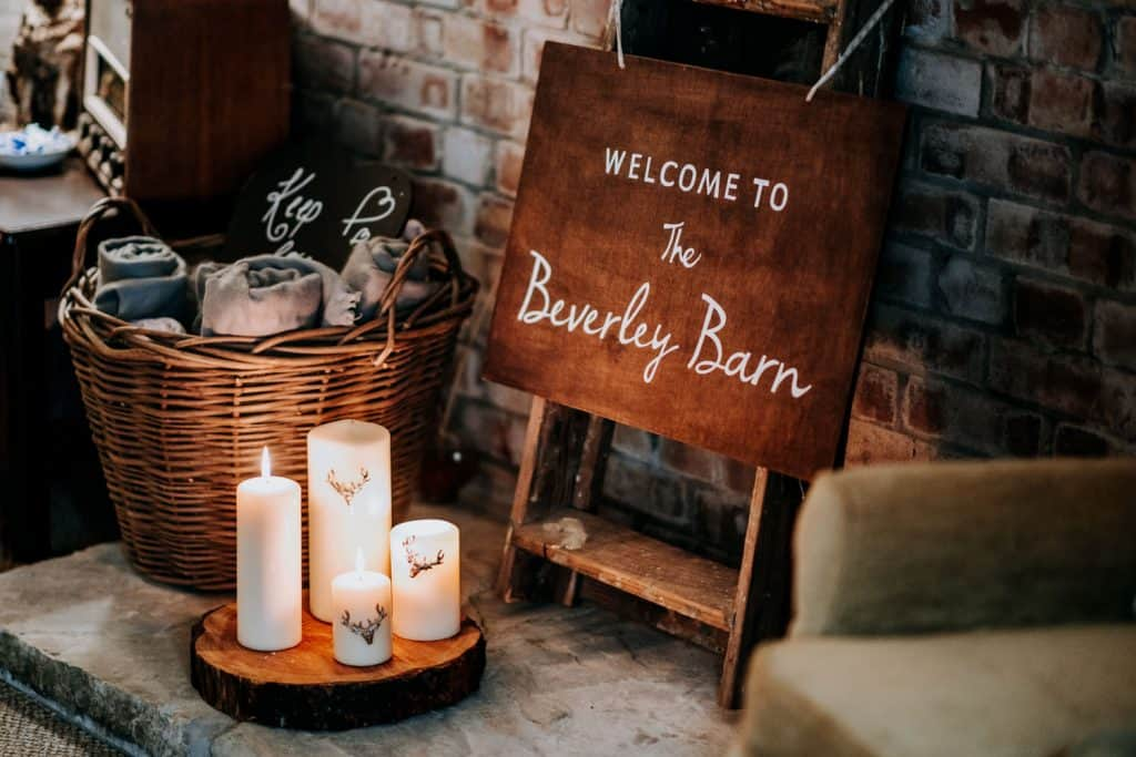 planning a wedding at the Beverley Barn