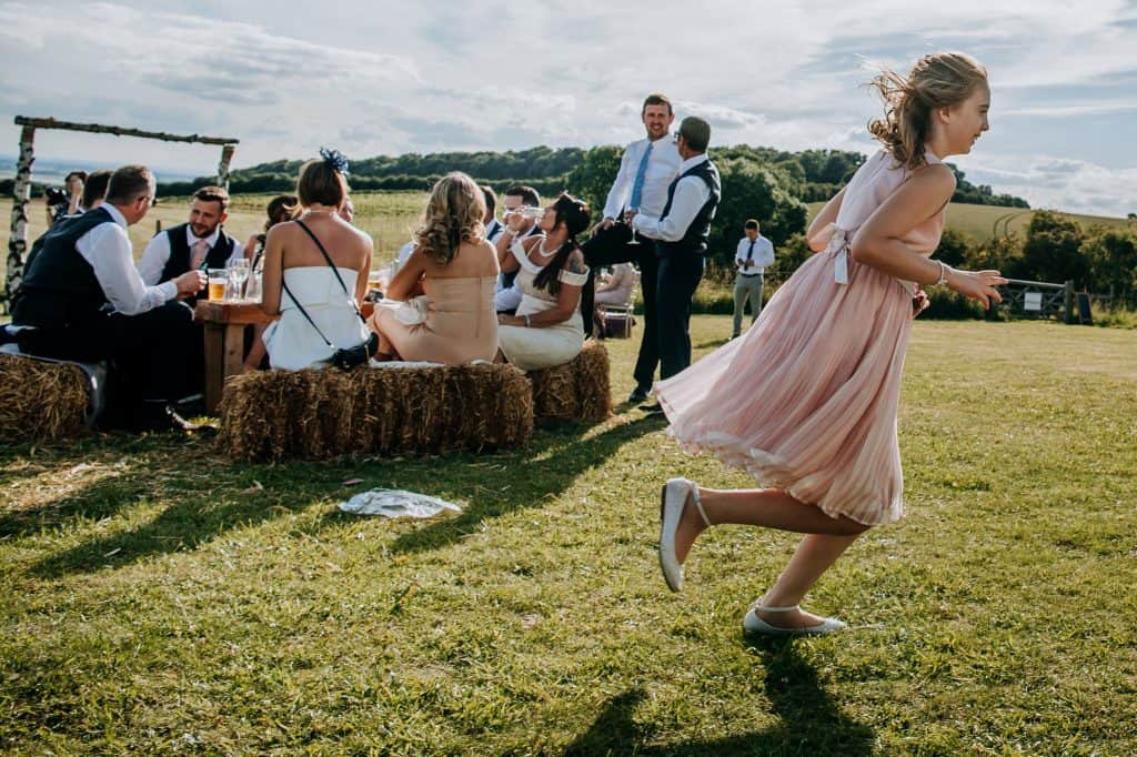 Little Wold is the perfect wedding venue for a summer wedding